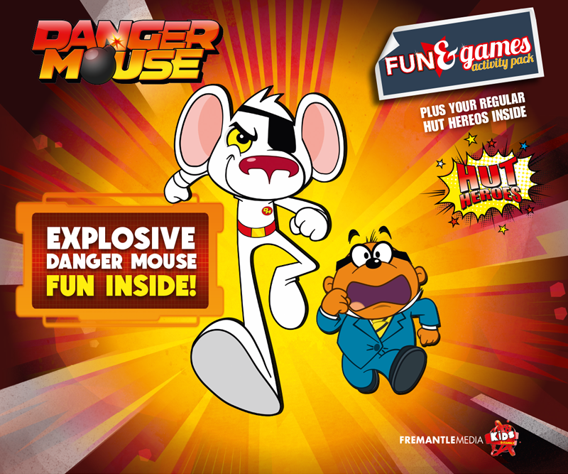 DANGERmouse and pizza hut