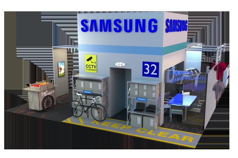 Samsung rtbe stand