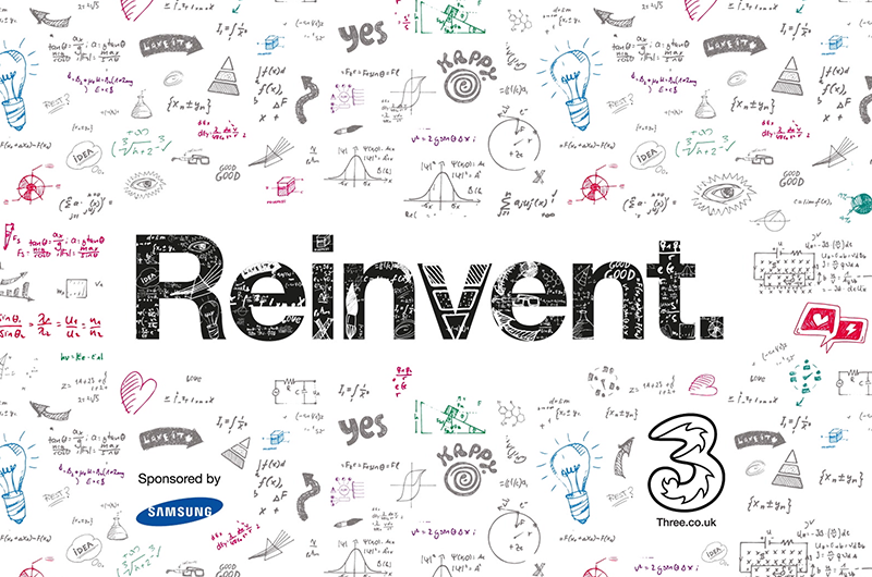 Three reinvent