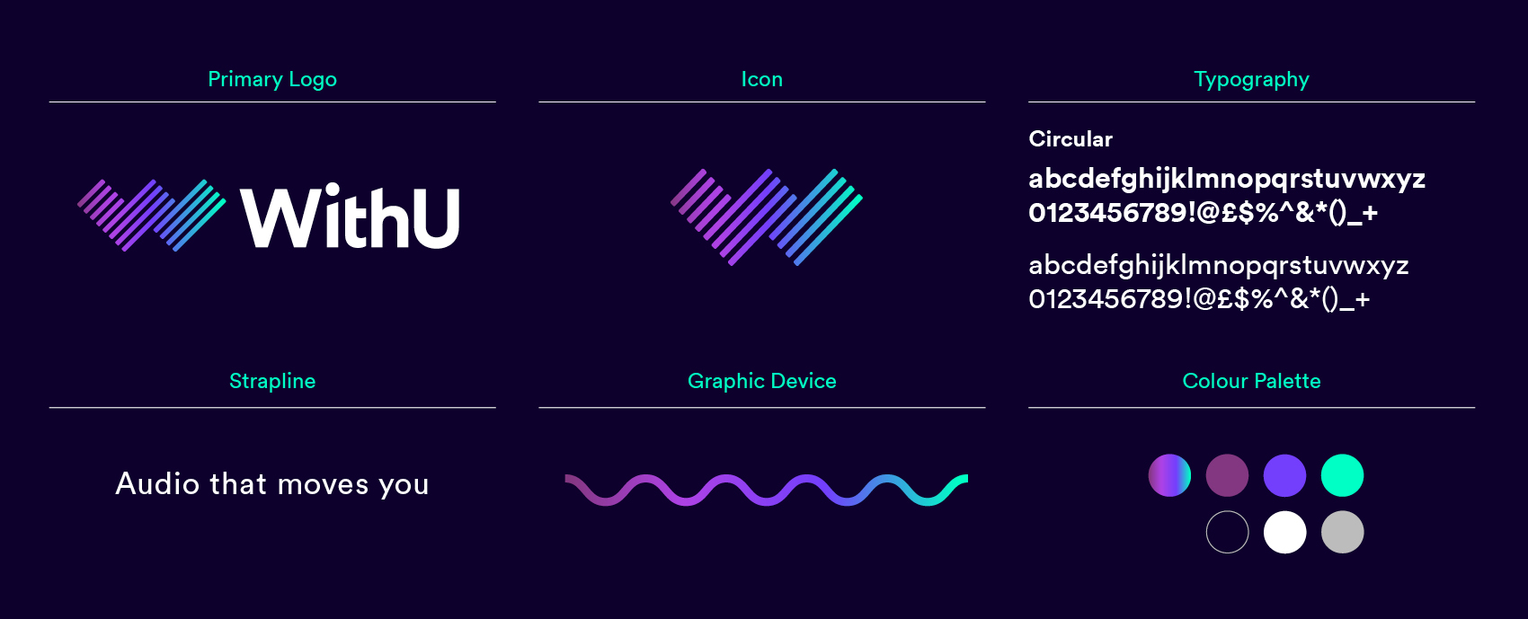 WithU Brand Guidelines Overview